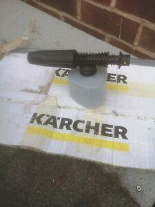 Genuine Karcher Pressure Washer Jet Wash Car Snow Foam Lance Bottle For K2- K7