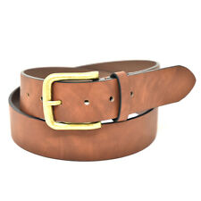 NYBC Yates Classic Mens Belt with Metal Buckle Handcrafted Jean Belt Made in USA