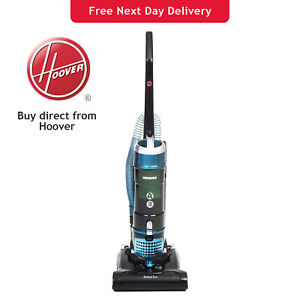 Hoover Breeze Evo TH31BO01 Bagless Upright Vacuum Cleaner A+ - Black & Turquoise