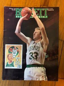 Beckett Basketball Monthly November & December 1992 Larry Bird/Larry Johnson