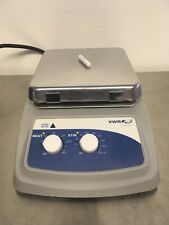 "VWR 7x7"" Aluminum Hotplate Stirrer Cat. No. 97042-638 Tested Excellent Warranty"