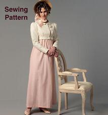 Butterick B6074 Making History PATTERN Dress, Jacket,Purse & Hat Trim Sizes 6-22