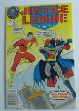 Justice League #3 VF Key Issue Rare Test Cover Variant DC Comics 1987 Batman