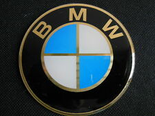 New-6pc-BMW-Logo-GOLD-75mm-Aluminum-Hood-Trunk-Wheel-Center-Hub-Cap-Stickers-Emb