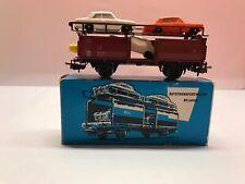 HO Märklin 4613 Automobile Transporter with 4 Cars