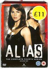 ALIAS The Complete Season 4 DVD 6 Disc Set (Region 2)