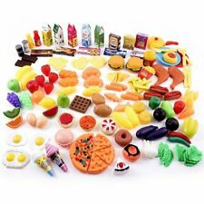 Little Bear Foot Play Food Set for Kids - Pretend 150 + Piece Assortment for