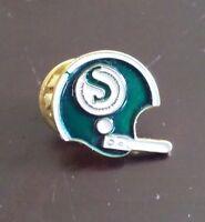 Saskatchewan Roughriders football helmet pin