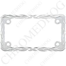 Billet Aluminum License Plate Frame Tag Bolt Kit 2 Polished Cross USA Ghost