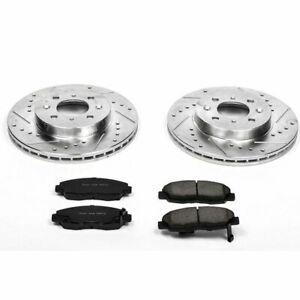 PowerStop for 96-05 Honda Civic Front Z23 Evolution Sport Brake Kit