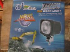 XENON ID Work Lamp Light 55W Trapezoid Allis Case John Deere Massey Ford Tractor
