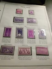 United States Scott 835 - 838, 852 - 858, a set of 11 mint commemoratives