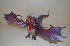002 DRAGONHEART Medusa Dragon with Surprise Attack Serpent Figure - Kenner