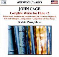 Katrin Zenz - Cage:Flute Works 2 [Katrin Zenz; Tobias Liebezeit; [CD]