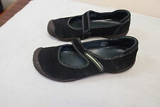 Women's Black  Suede KEEN  Mary Jane Shoes Size 8.5 B