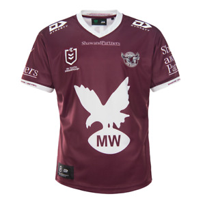 2021 Manly Sea Eagles Eagles Home Rugby Shirt Jersey