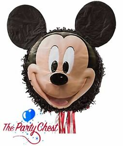 50CM MICKEY MOUSE DISNEY PULL STRING PINATA Birthday Party Game Decoration 90315