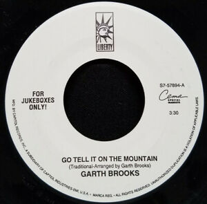 "GARTH BROOKS - Go Tell It On The Mountain 7"""