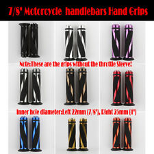 """7/8"""" 22MM Motorcycle Hand Grip Handlebar Fit for Yamaha YZF R1 R6 600R 750R 1000"""