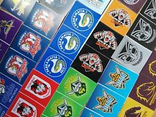 Official NRL Club Stickers 3 Stickers per Sheet.
