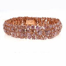 Pink Diamanten - Armband 28.5ct Natürlich Schicke Rosa Gemischte Farben