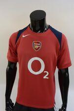 2004-05 nike Arsenal FC GUNNERS London  Trainig Shirt SIZE S (adults)