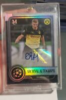 Erling Haaland 2019-20 Topps Museum UEFA Champions RC Archival Auto 20/49 RARE