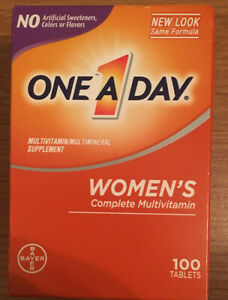 One A Day Women's Complete Multivitamin 100 Tablets
