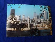PRE STAMPED POSTCARD SKYLINE VIEW OF MONTREAL QUEBEC CANADA POST OFFICE