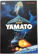 Dvd La Corazzata Spaziale Yamato - Addio Yamato - Animazione 1978 Usato
