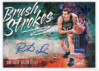 2018-19 DINO RADJA 17/25 AUTO PANINI COURT KINGS BRUSH STROKES AUTOGRAPHS