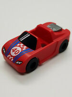 LEGO-MINIFIGURES X 1 RED CAR FOR THE Race Car Guy FROM SERIES 18 PARTS