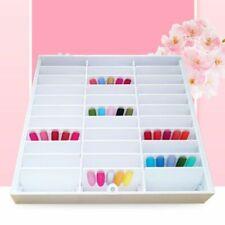 Fake Nail Tips Storage Box 30 Compartments Nail Art Decor Container Display Case