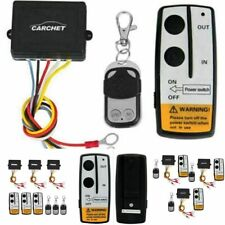 3 Wireless Winch Remote Control Kit 12V Switch Handset for Jeep Truck Suv Atv
