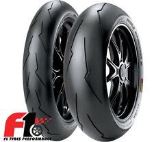 [3G] Coppia Gomme Pirelli Diablo Supercorsa SP SC 1 V2 120/70ZR17 + 180/60ZR17