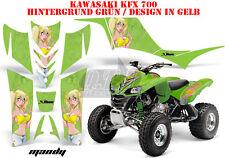 AMR RACING DEKOR GRAPHIC KIT ATV KAWASAKI KFX 450 & 700 MANDY B