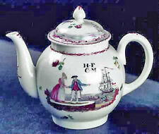 LENOX SMITHSONIAN COLLECTION LIVERPOOL 1765 TEAPOT NEW