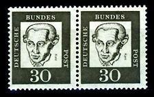 BUND bed. Deutsche (y)  30  Pf. **, Mi. 354 - im Paar, postfrisch Luxus