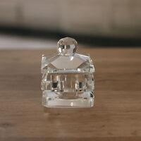 Crystal Square Jewellery Box Home Decor Trinket Box Gift 8cms BRAND NEW