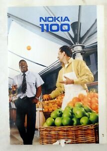 Original Nokia 1100 Instruction Booklet English 46 pages date: 2003