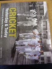 2012 Cricket Book: Cricket Yesterday & Today - Hard Back With Dust Jacket, Origi