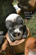 Miniature Garden Yoga Panda Plow Pose NEW tlmg 4522