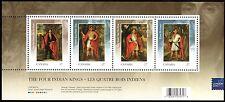 Canada Stamps -Souvenir sheet -2010 Four Indian Kings Overprinted #2383c MNH