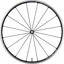 Shimano Roues RS500-TL Tubeless Compatible Fil, 100 mm avant Q/R, gris