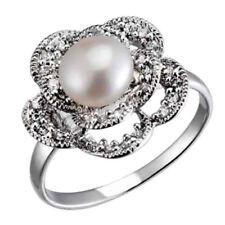 bc15baea6 Freshwater Fine Pearl Rings for sale | eBay