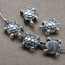 30pc Tibet Silver Turtle spacer beads accessories wholesale   PL041
