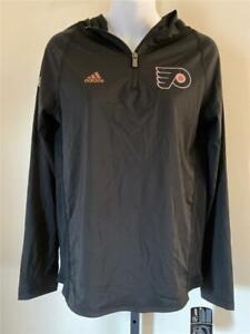 New Philadelphia Flyers Youth Size XL Black Adidas Jacket $55