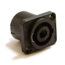 Neutrik 4 Pole Speakon Chasis Mount PA Speaker Solder Terminal Socket