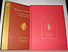 Winnie The Pooh- A.A. Milne - E.H. Shepard, HB/Slipcase. 2002