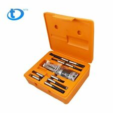 2 Boring Head With Straight R8 Shank And 9 Pc 12 Boring Bar Set